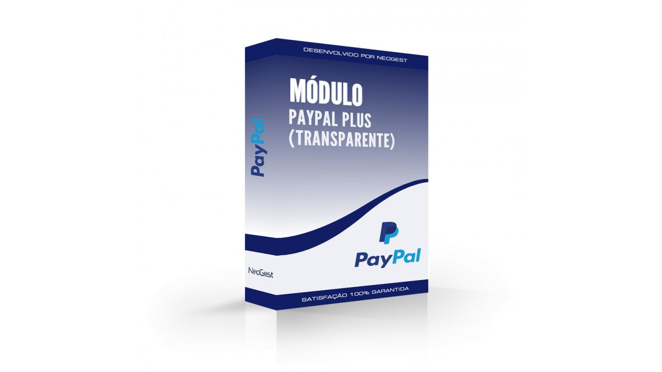 Módulo PayPal Plus (Checkout Transparente) para PrestaShop