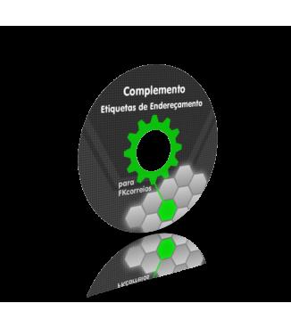 Módulo Complemento de Etiquetas de Endereçamento para FKcorreios G2 para PrestaShop